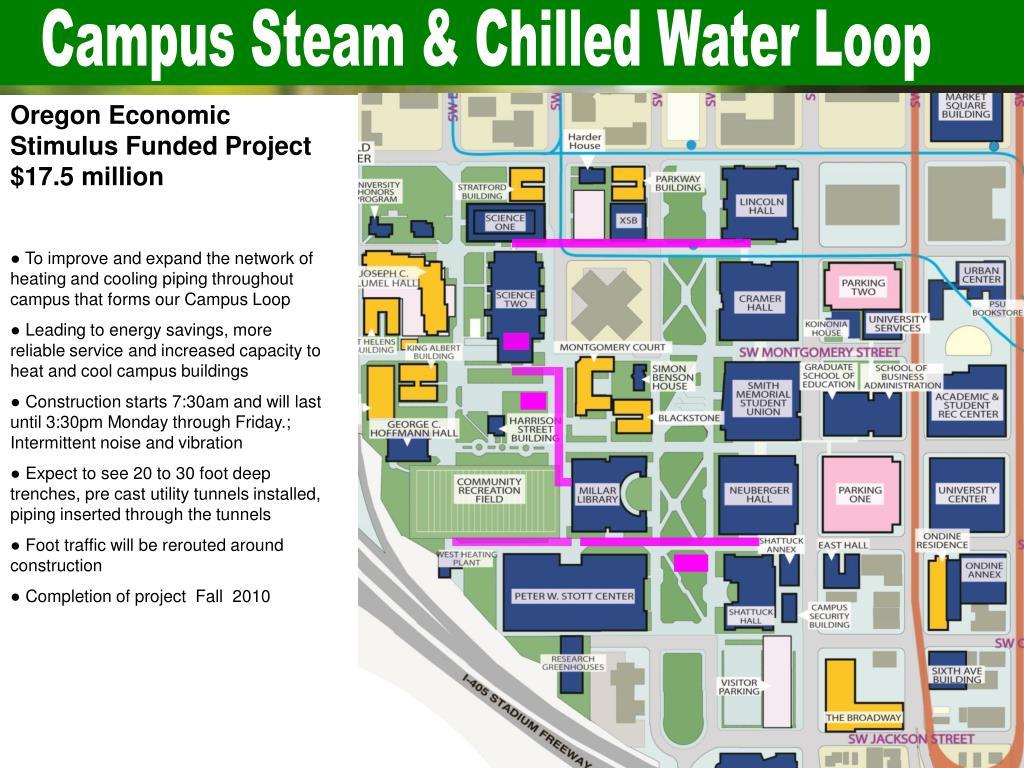 Campus Steam & Chilled Water Loop