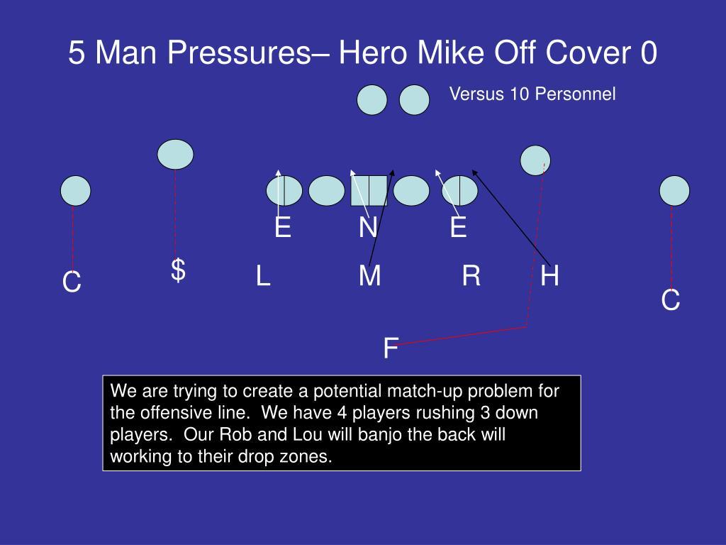 5 Man Pressures– Hero Mike Off Cover 0