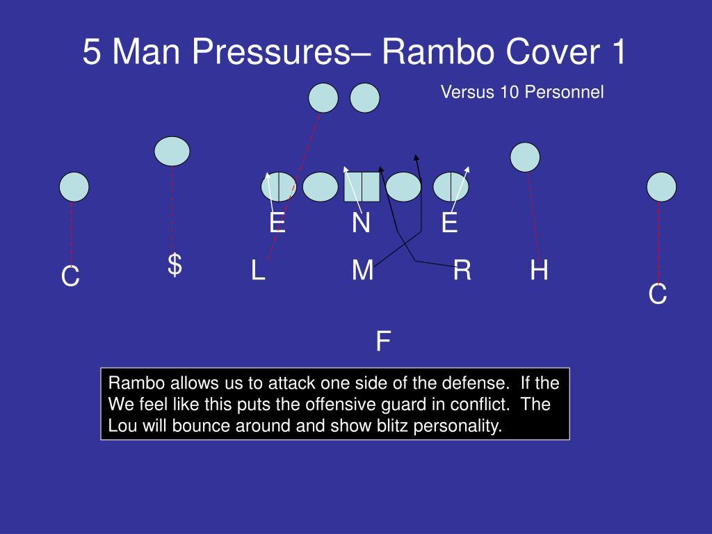 5 Man Pressures– Rambo Cover 1