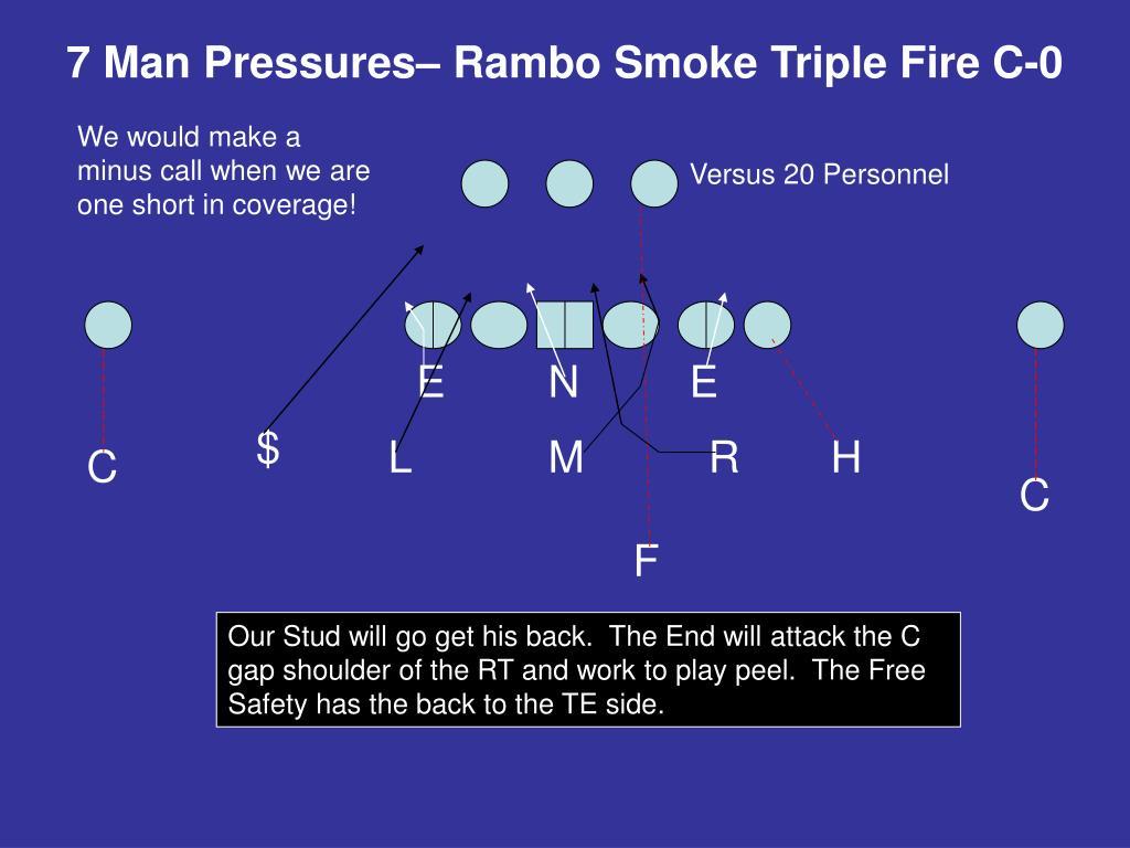 7 Man Pressures– Rambo Smoke Triple Fire C-0