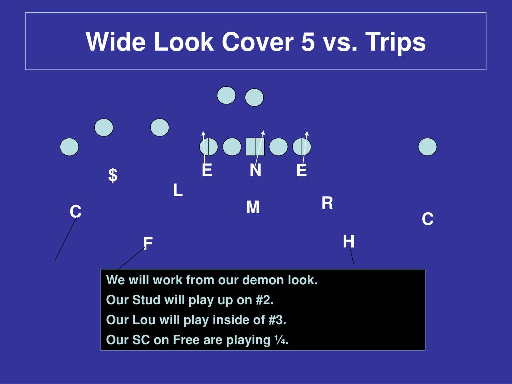 Wide Look Cover 5 vs. Trips