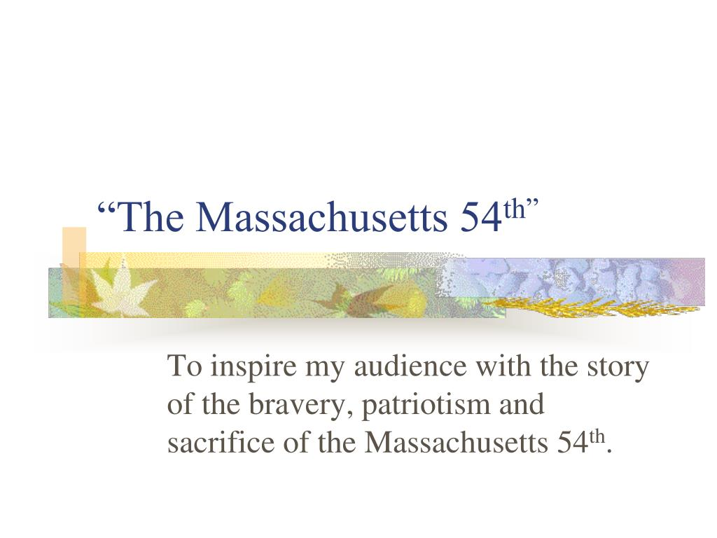 """The Massachusetts 54"
