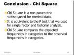 conclusion chi square