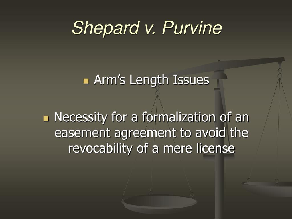 Shepard v. Purvine