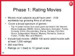 phase 1 rating movies