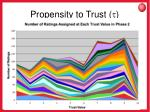 propensity to trust