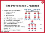 the provenance challenge