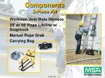 components 3 piece kit