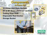 components 4 piece kit