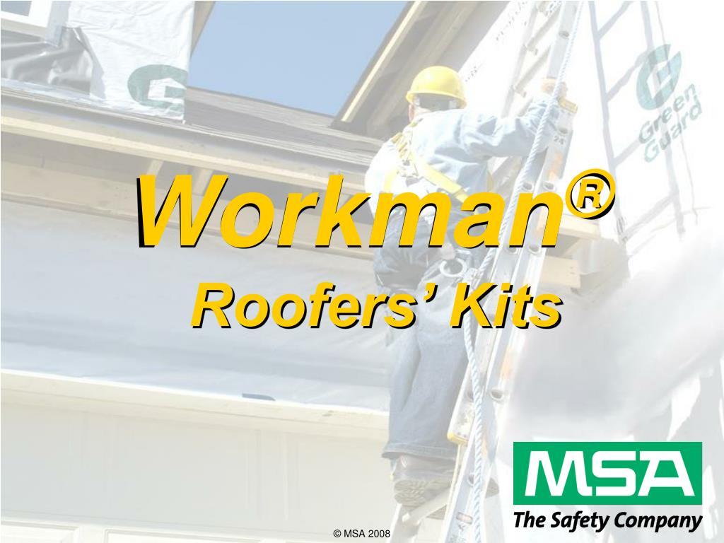 workman roofers kits
