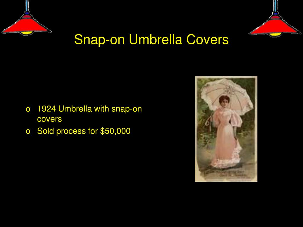 Snap-on Umbrella Covers
