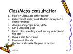 classmaps consultation