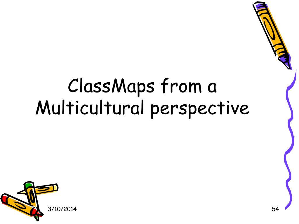ClassMaps from a Multicultural perspective