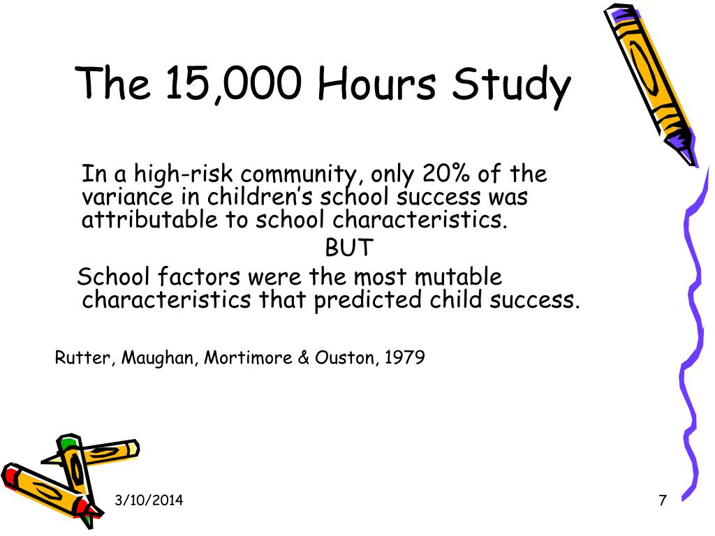 The 15,000 Hours Study