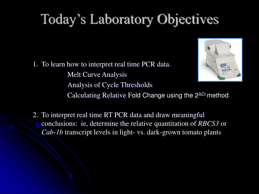 PPT - Real Time RT PCR Data Analysis PowerPoint Presentation