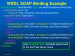 wsdl soap binding example