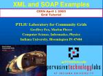 xml and soap examples
