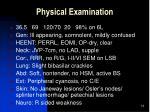 physical examination14
