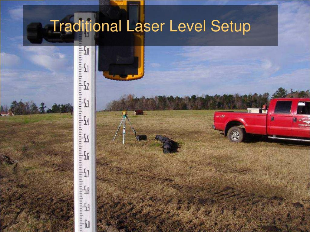 Traditional Laser Level Setup
