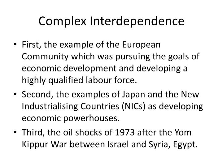 Ppt Complex Interdependence And Neoliberal Institutionalism