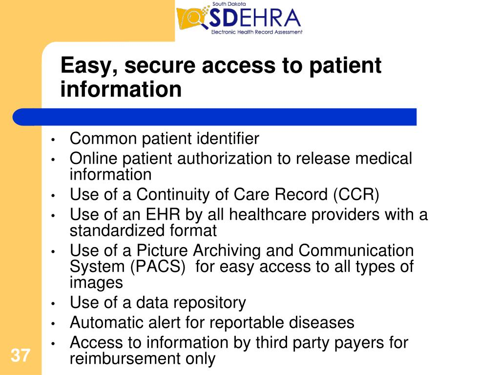 Easy, secure access to patient information