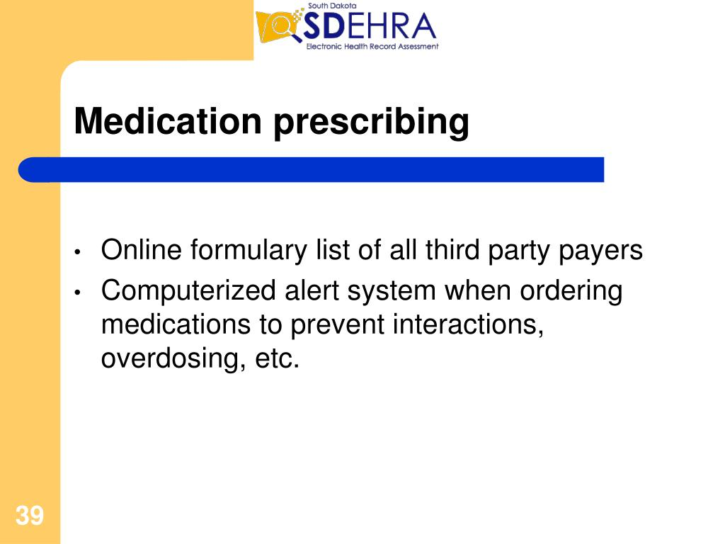 Medication prescribing
