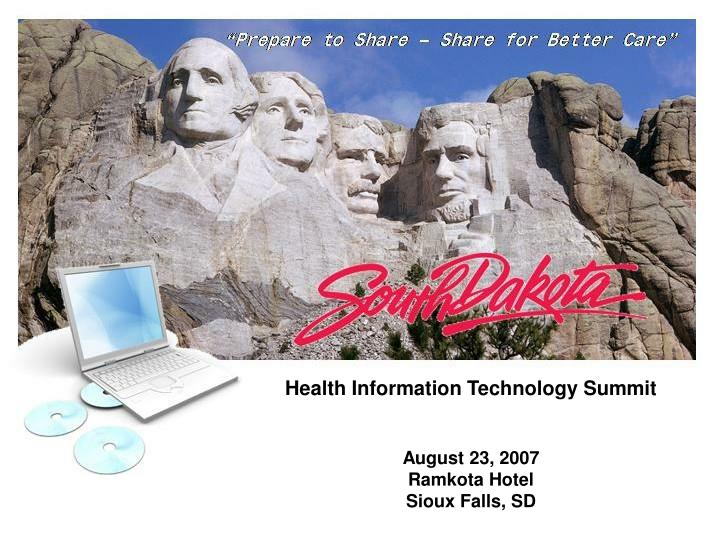 Health Information Technology Summit