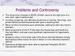 problems and controversy