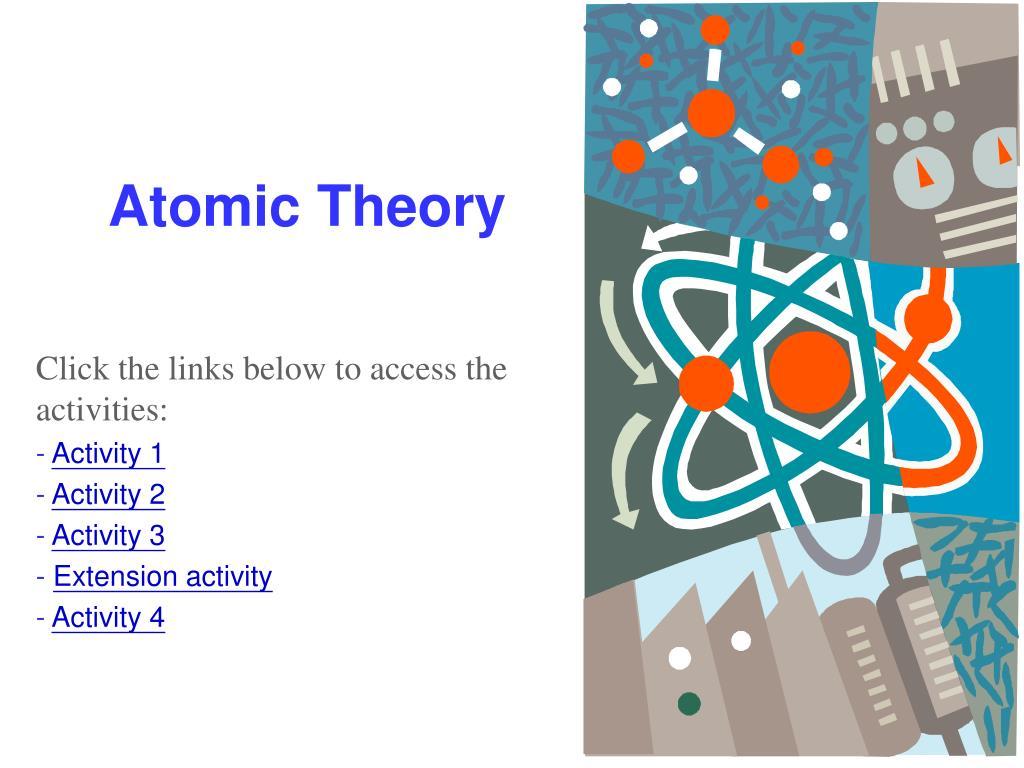 atomic theory l.