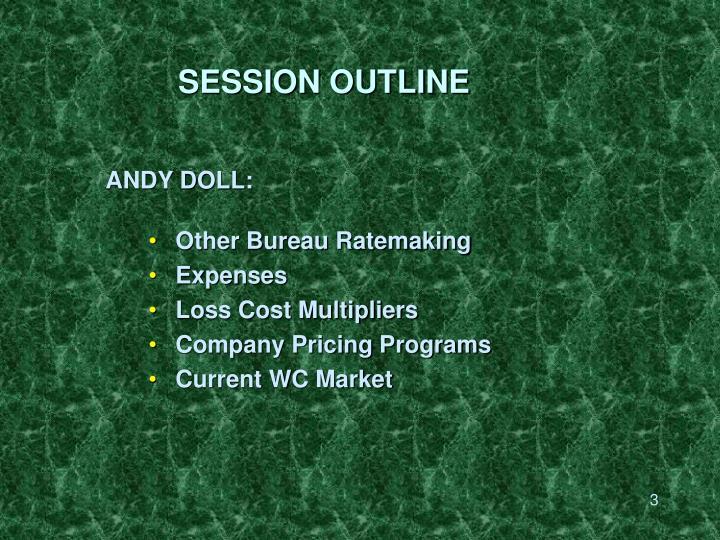 Session outline3