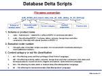 database delta scripts