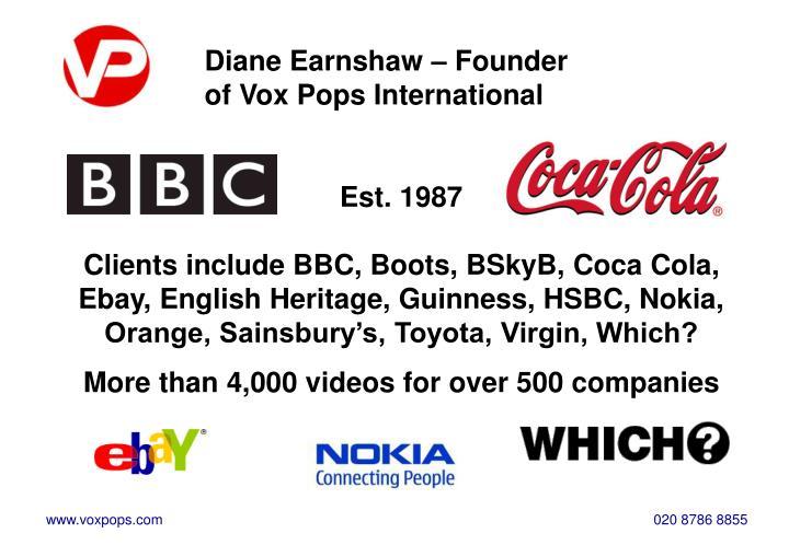 Diane Earnshaw – Founder