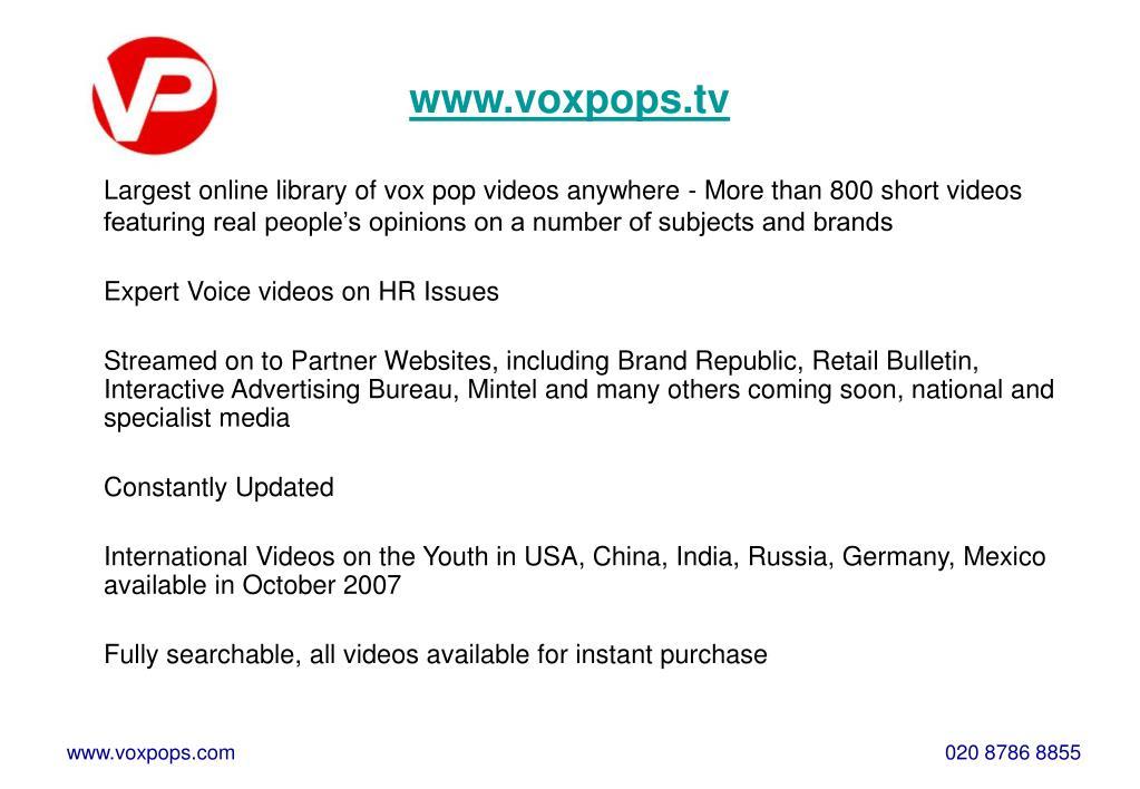 www.voxpops.tv