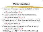 online smoothing14
