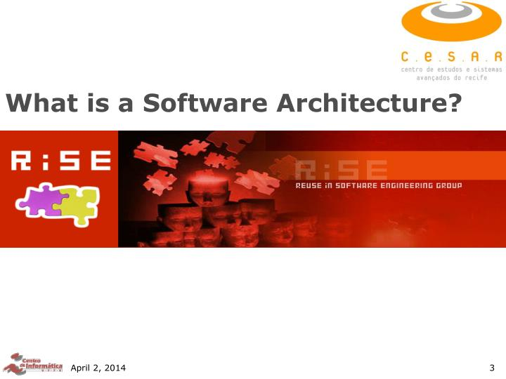 What is a software architecture