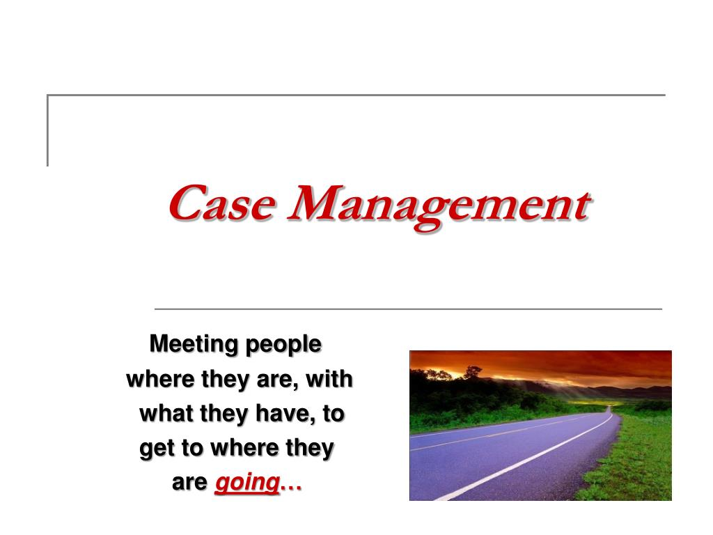 case management l.
