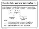 superbuckets local change in implied vol