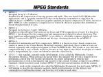 mpeg standards42