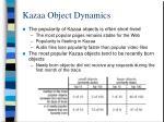 kazaa object dynamics9
