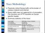 trace methodology