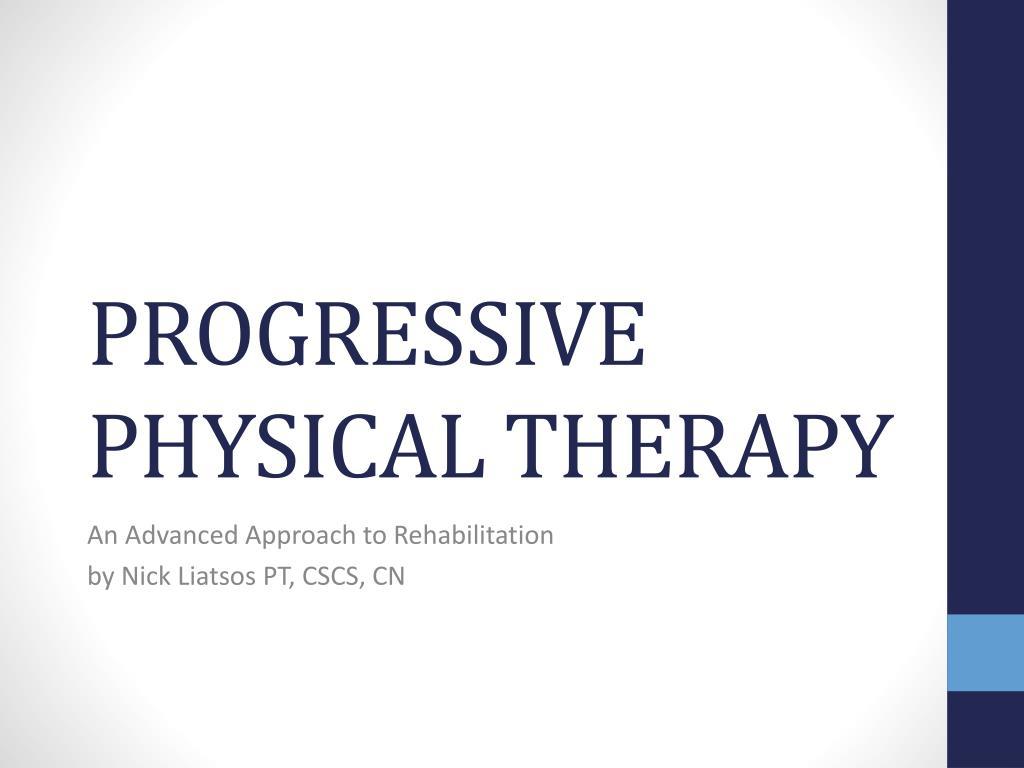 progressive physical therapy l.