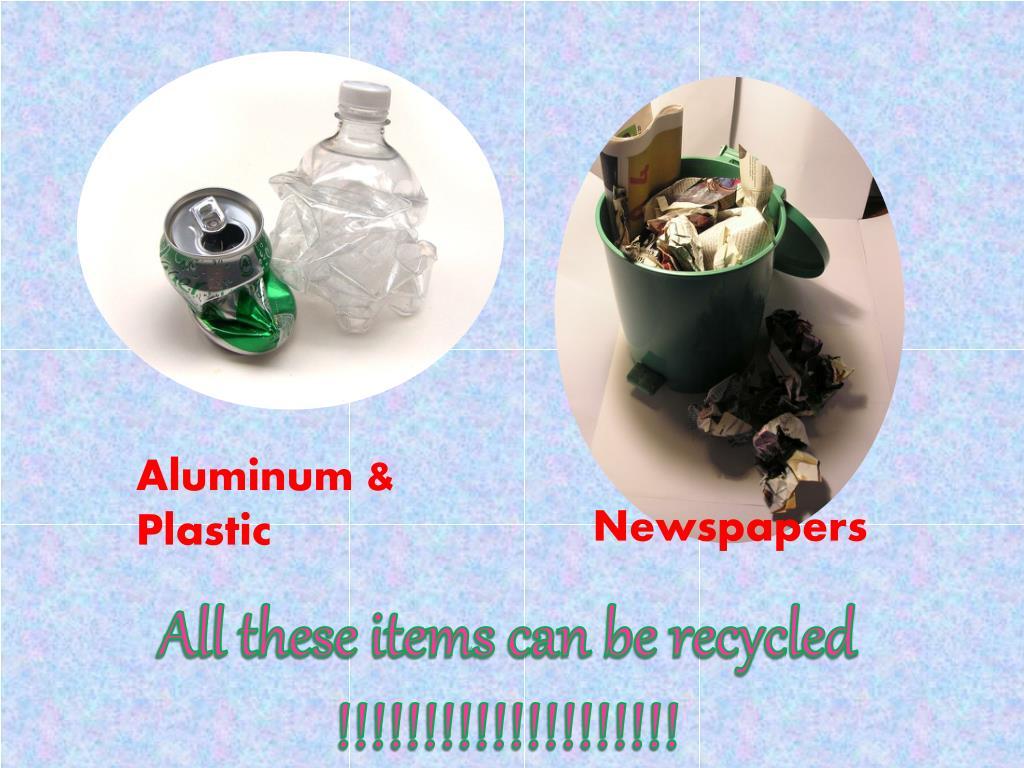 Aluminum & Plastic