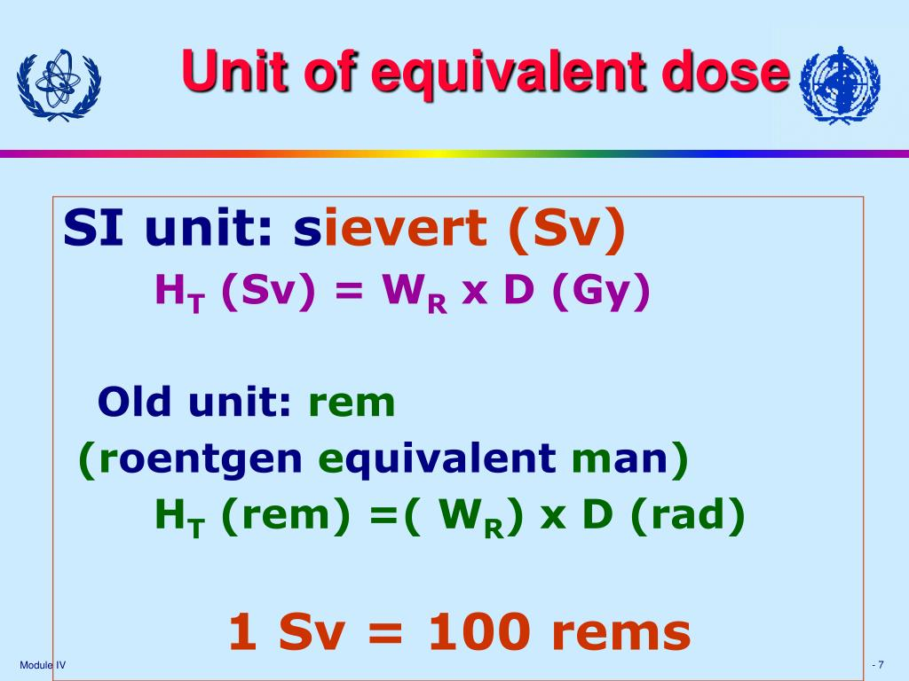 Unit of