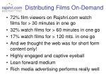 distributing films on demand5