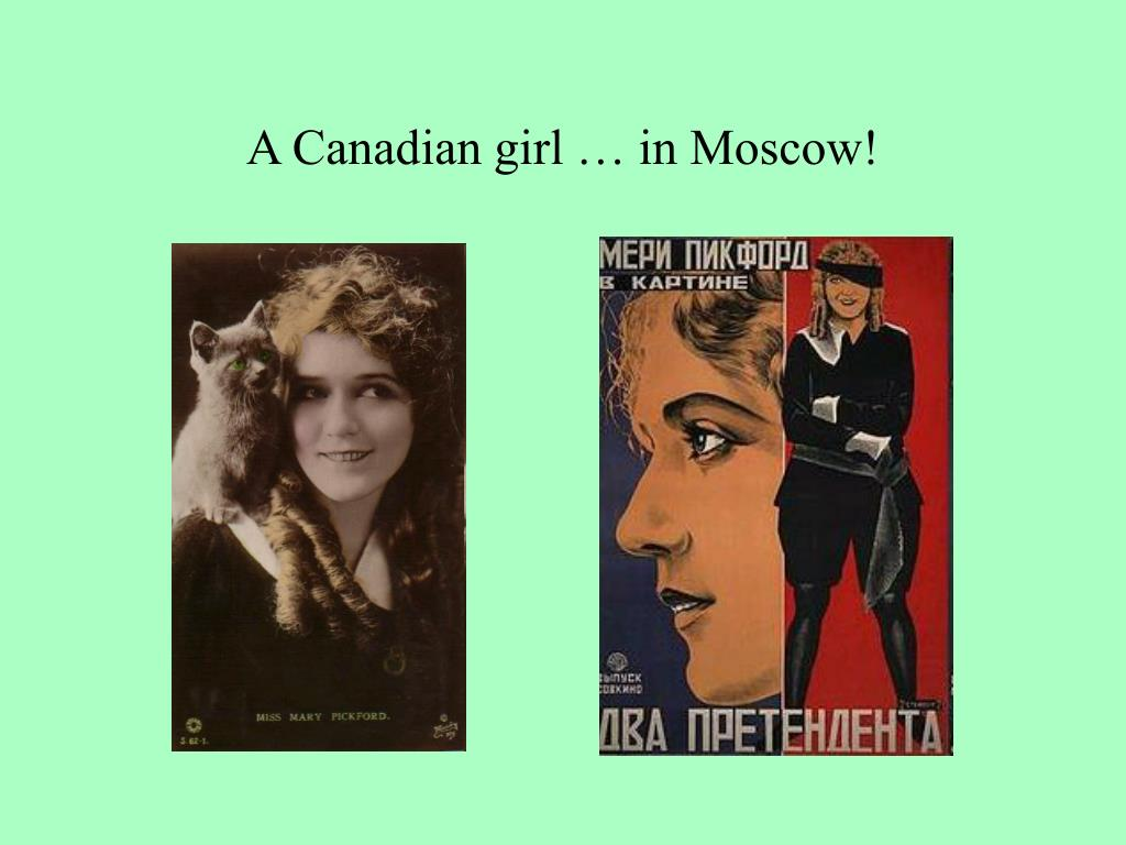 A Canadian girl … in Moscow!