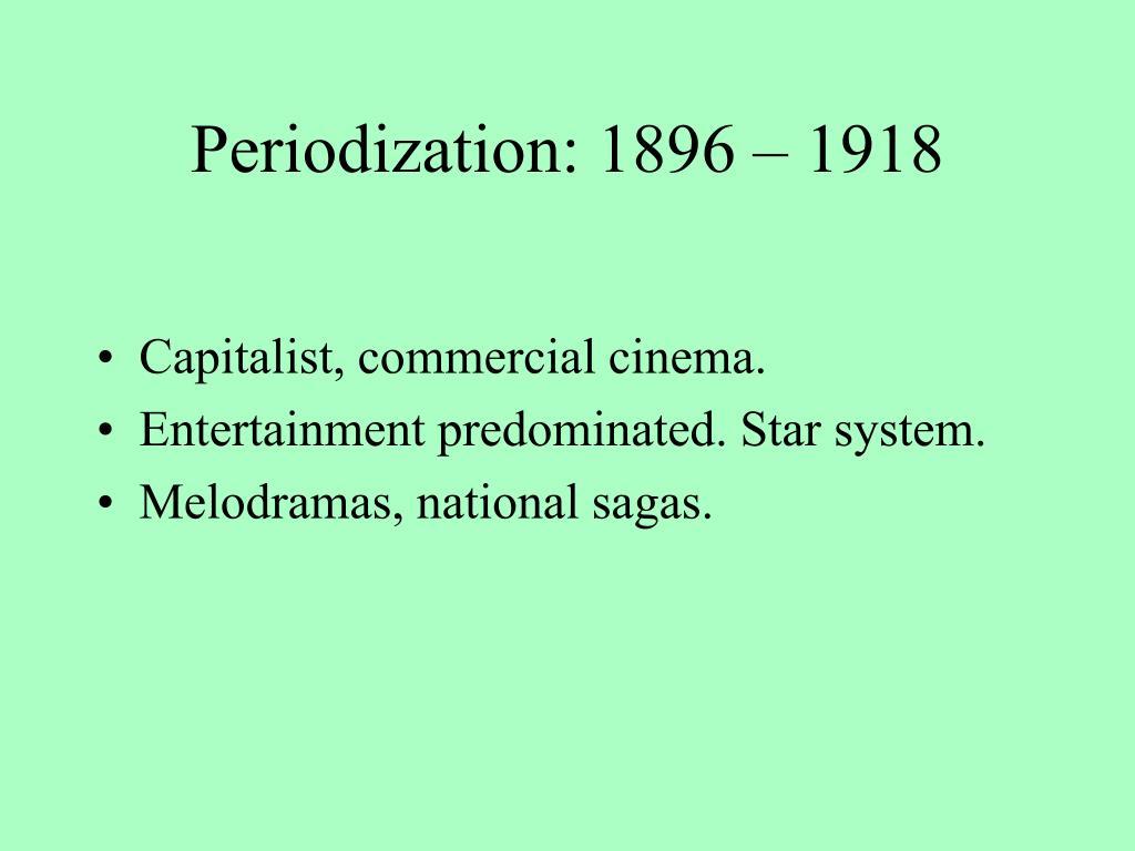 Periodization: