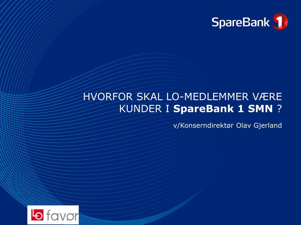 Sparebanken 1 smn