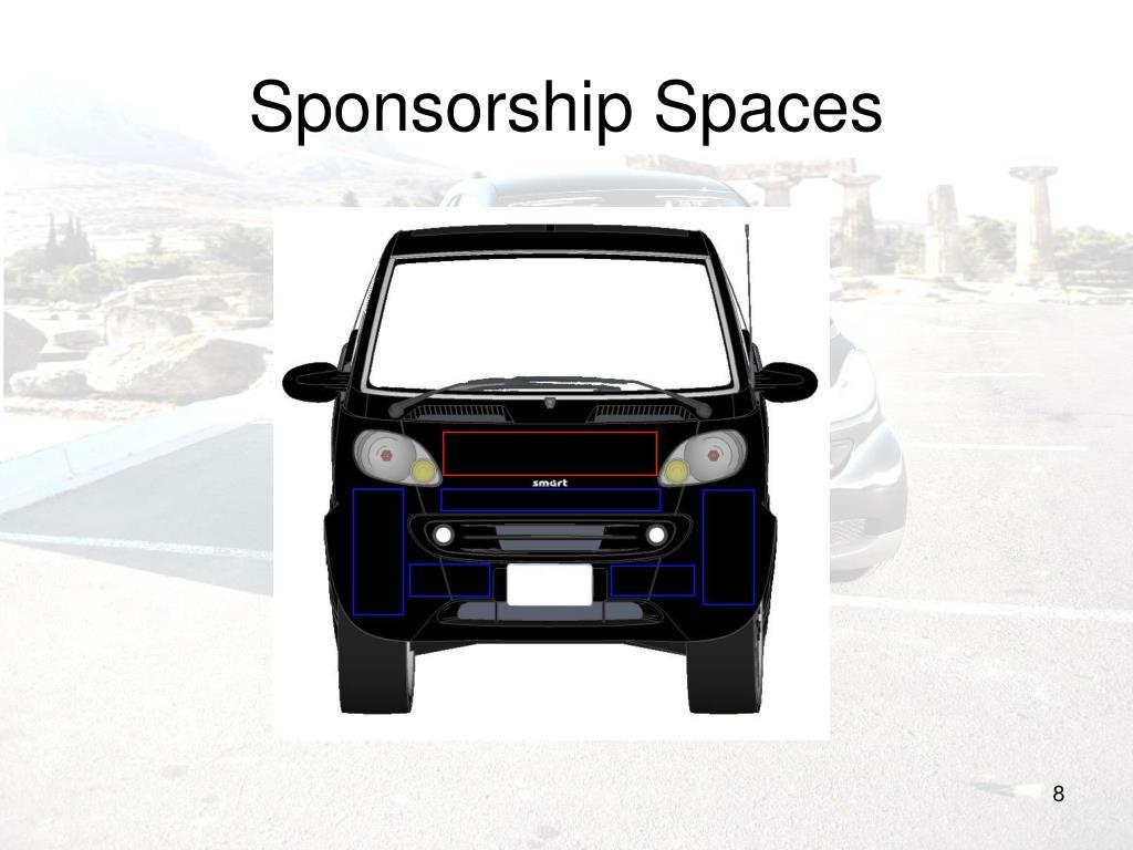 Sponsorship Spaces