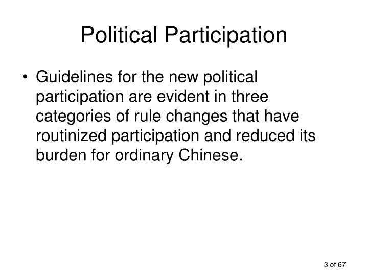 Political participation3