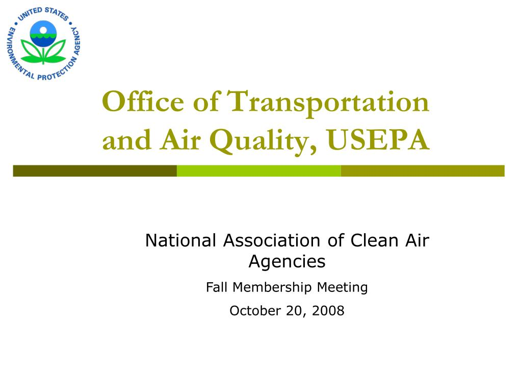 office of transportation and air quality usepa l.